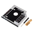 "2.5"" SATA to SATA HDD/SSD Caddy for Notebook Optical Drive - Silver"