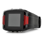 "1.44"" TFT GPS Tracker Locator Watch for Elderly / Kids - Black + Red"