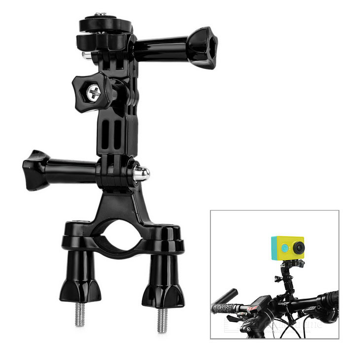 Bicycle Fixed Mount for Xiaomi Xiaoyi Sport Camera - Black