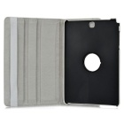 "Protective PU Case w/ Stand for Samsung Tab A 9.7"" / T550 - White"
