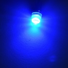 JIAWEN T10 1.5W LED Car Side Maker Lamp Backup Bulb Blue Light (10PCS)