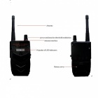 Anti-Spy Signal Bug Detector Wiretap Lens GSM Device Finder - Black