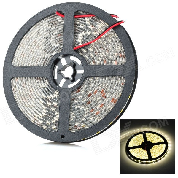 3500K Warm White 300*5050 SMD LED Flexible Light Strip (5m / DC 12V)
