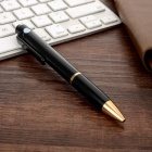 8GB Voice Recording Pen w/ Indicator, Ballpoint Pen - Black + Golden