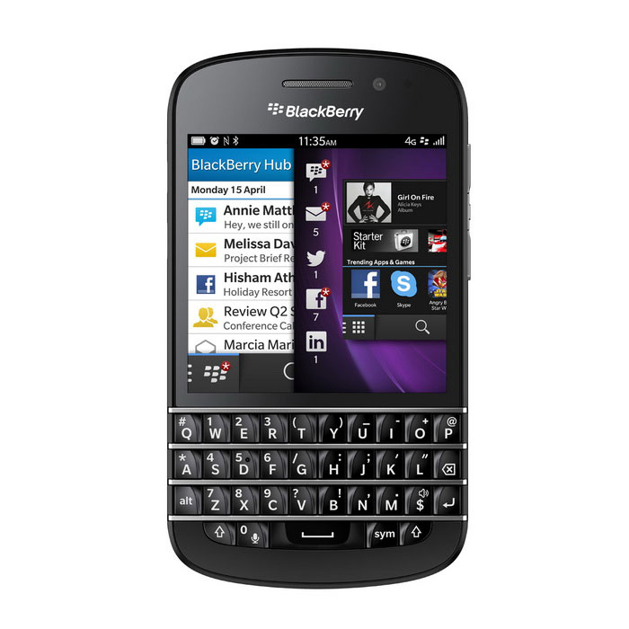 Genuine Blackberry Q10 4G LTE 16GB - Black for sale in Bitcoin, Litecoin, Ethereum, Bitcoin Cash with the best price and Free Shipping on Gipsybee.com