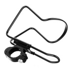 Water Bottle Holder w/ Clip for Bicycle / Motorcycle - Black