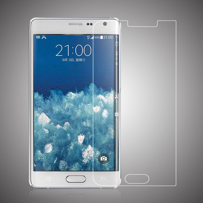 Image of 0.1mm Soft Surface Full-screen Tempered Glass Screen Protector for Samsung Note Edge (N9150)
