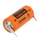 ITALIE non rechargeable 3.6V ER14335 batterie lithium avec broche de soudage - orange + noir