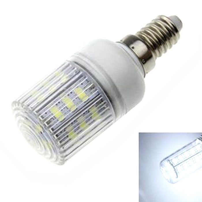 Buy E14 6W LED Corn Light White 6500K 600lm 24-5630 SMD (AC 220~240V) with Litecoins with Free Shipping on Gipsybee.com