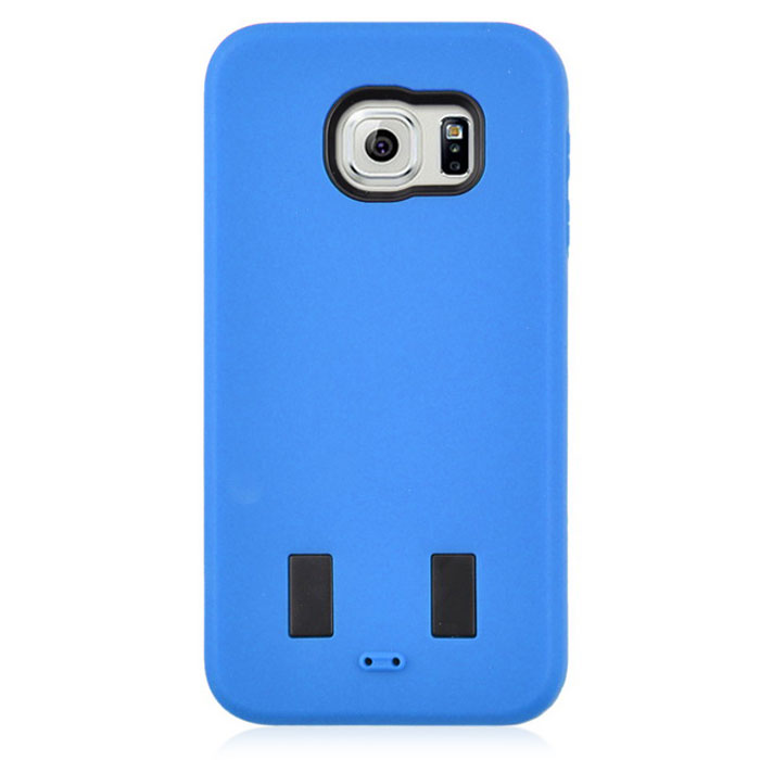 Angibabe AB00011 Silicone + PC Back Case for Samsung Galaxy S6 - Blue