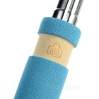 Mini Retractable Selfie Rod for IPHONE, Samsung, Huawei + More - Blue