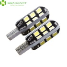 T10 8W LED Car Světlá / Čtení Light White 6000K 24-SMD (2ks)
