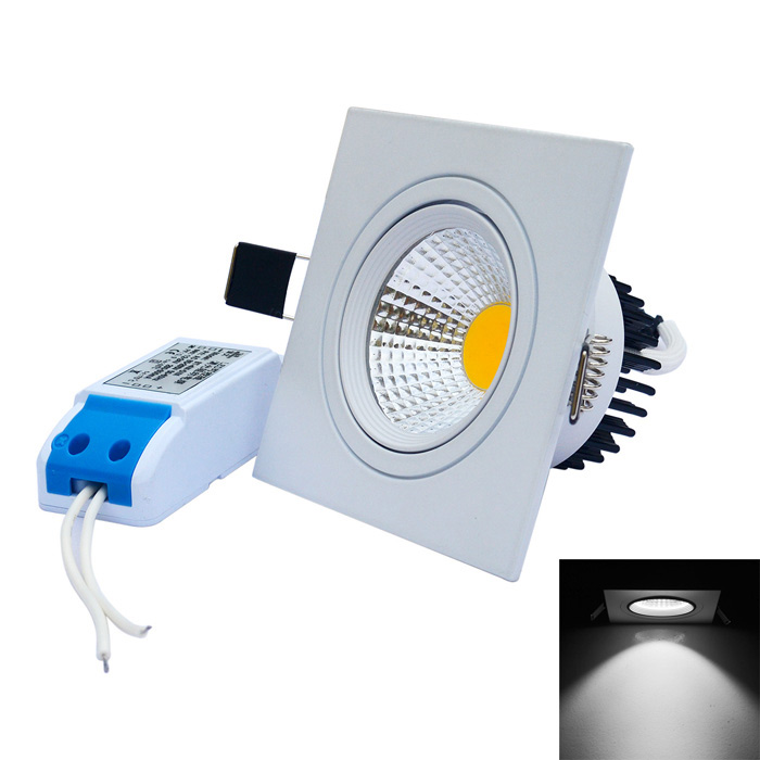 JIAWEN 4W Dimmable Anti-Glare COB LED Ceiling Lamp White Light 6500K