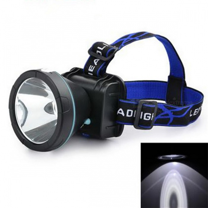 Marsing 10W Rechargeable LED Fishing Headlamp - Black + Blue