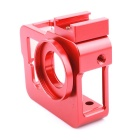 PANNOVO Camera Protective Case Holder for GoPro Hero 3 / 3+ / 4 - Red