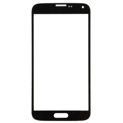 Phone Glass Touch Screen Panel for Samsung S5 - Black + Transparent