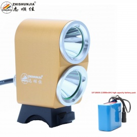 ZHISHUNJIA-K2G-XM-L-T6-LED-4-Mode-White-Bike-Light-Headlight