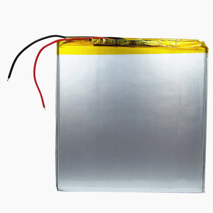 4500mAh Rechargeable LiPo Battery w/ Protective Plate - Silver White