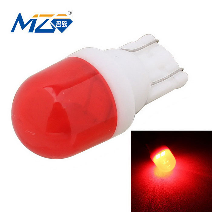MZ T10 1W Ceramic LED Car Clearance Lamp Red Light 597nm 80lm SMD