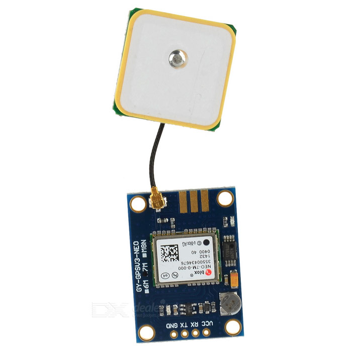 GYGPSV3-NEO7M ublox NEO-7M-000 APM2.6 GPS Module - BlueOther Accessories<br>Form  ColorBlueModelN/AQuantity1 DX.PCM.Model.AttributeModel.UnitMaterialCCL + electronic componentsEnglish Manual / SpecYesDownload Link   http://pan.baidu.com/s/1gdleZ8RPacking List1 x Module<br>