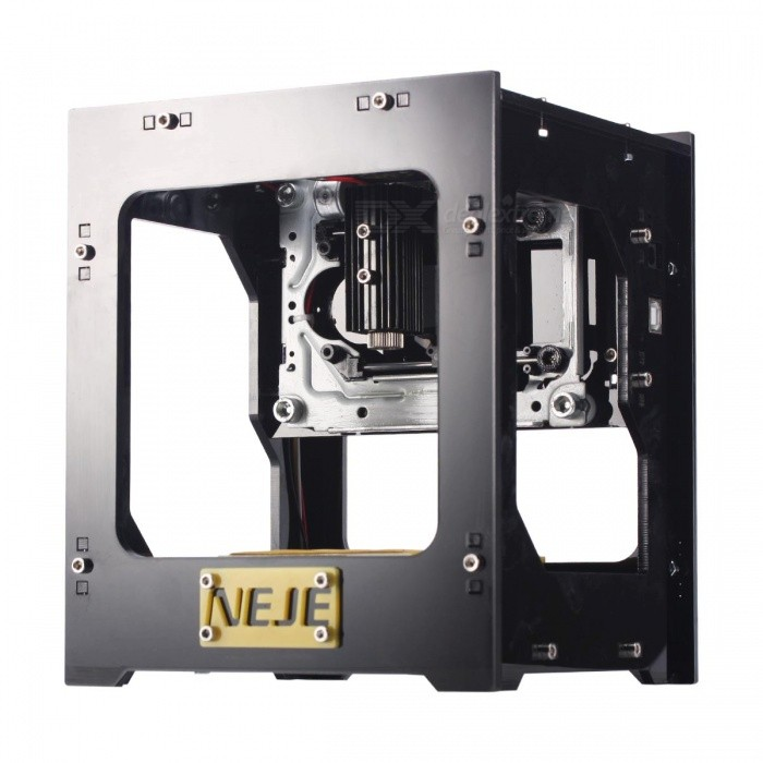 NEJE Fancy DK-8 Pro Topspeed Laser Box Engraving Machine Laser PrinterOther Tools<br>Form  ColorBlack - updated versionModelDK-8 ProQuantity1 DX.PCM.Model.AttributeModel.UnitMaterialAcrylic + aluminum + stainless steelOther FeaturesSoftware download:<br>http://www.trusfer.com/Download/(Laser Carve_EN).zip <br>Youtube Video:<br>https://www.youtube.com/watch?v=gXWUgMmCVU4&amp;feature=youtu.bePacking List1 x Engraving machine1 x Laser protective glasses1 x Allen wrench1 x CD-ROM (software and instruction manual)<br>