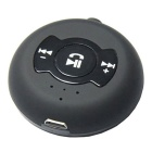 Multifunction Car Bluetooth 4.0 Hands Free Audio Receiver - Black