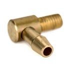 Brass L-Type Nozzle for R/C Model Airplane/Model Ship + More - Brass