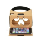 "Cardboard Gen II Virtual Reality 3D Glasses for 6"" Phone (37mm Lens)"