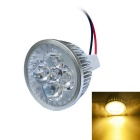 JIAWEN 4W 400lm Warm White 3200K LED Spotlight - Silver (85-265V)