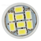 BA9S 0.3W LED Car Lamps Cold White 15532K 25lm 8-1210 SMD (4PCS / 12V)
