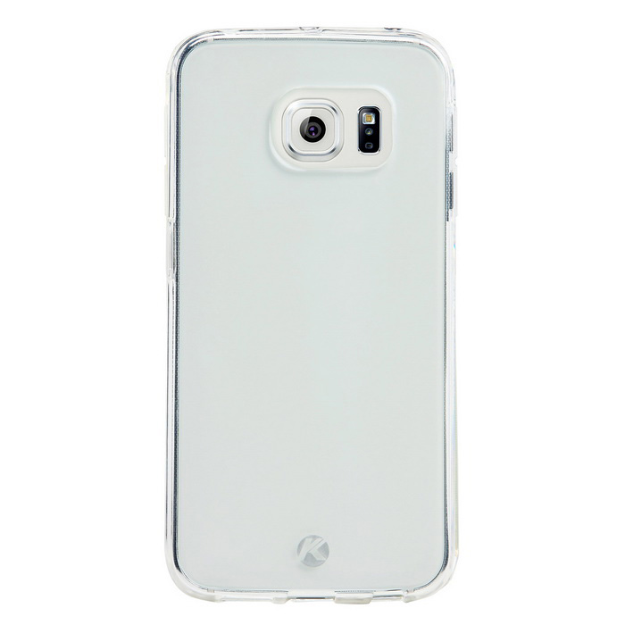 KALAIDENG Air Series Back Case for Samsung S6 Edge - Translucent White
