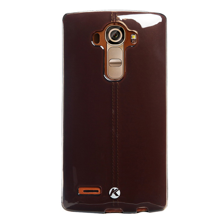 KALAIDENG Air Series Back Case w/ Film for LG G4 - Translucent Black