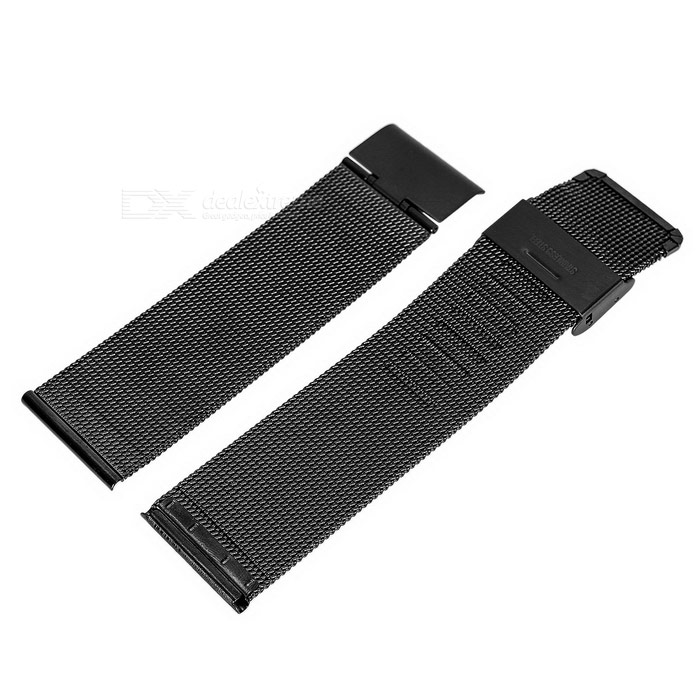 Stainless Steel 38mm Watchband for Apple Watch - Black