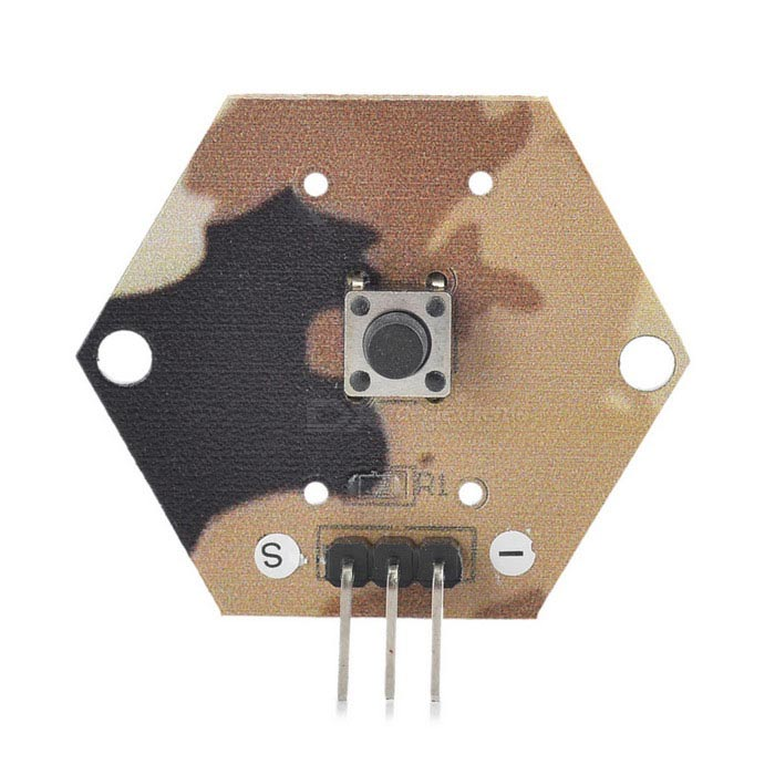 Camouflage Button Switch Module for Arduino