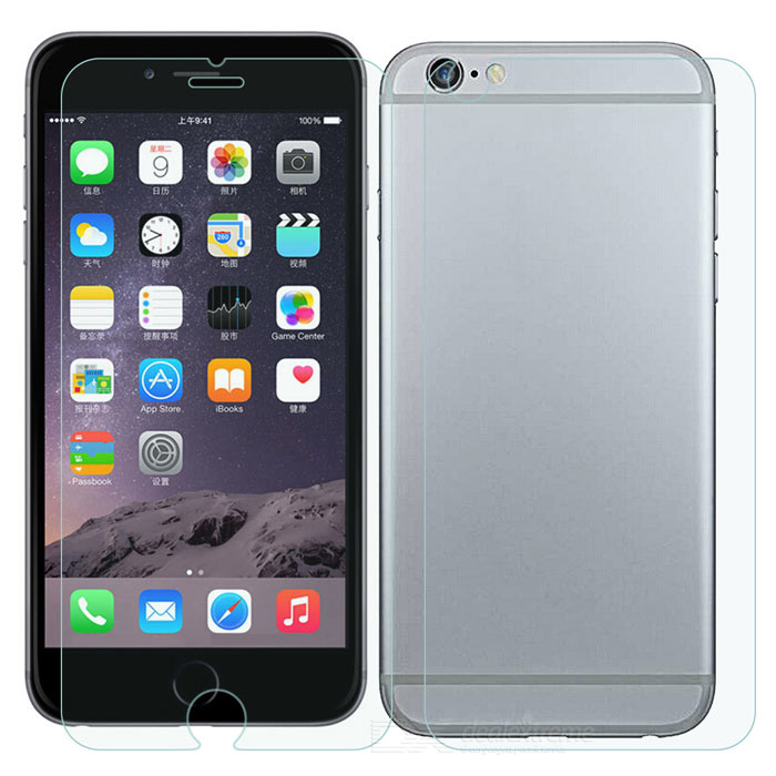 FineSource Tempered Glass Screen Film for IPHONE 6 PLUS - Transparent