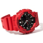 Originales Casio G Shock GA-100B-4AER Analógico Digital reloj de Men - rojo