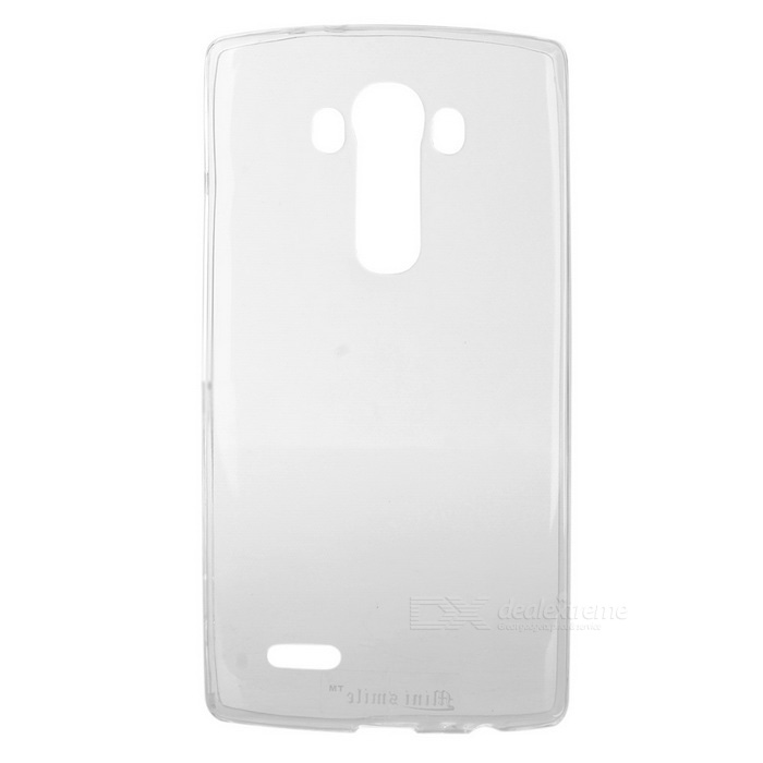 Mini Smile Ultra-thin TPU Protective Back Case for LG G4 - Transparent