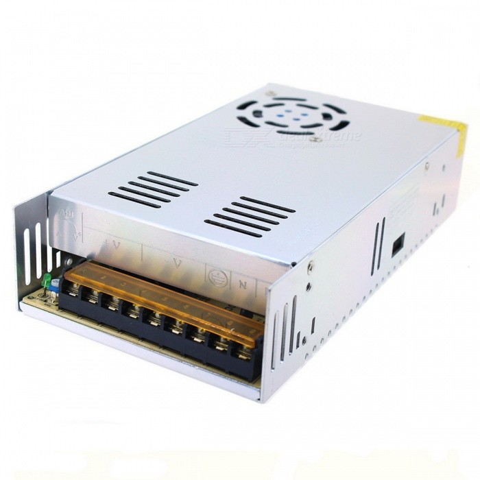 24V / 15A Constant Voltage Switching Power Supply Transformer - SilverSwitching Power Supply<br>Power360WForm  ColorSilverMaterialAluminumQuantity1 DX.PCM.Model.AttributeModel.UnitRated Current15 DX.PCM.Model.AttributeModel.UnitRate Voltage24VWorking Temperature-20~60 DX.PCM.Model.AttributeModel.UnitWorking Humidity20~90% RH (non-condensing)Power AdaptornoPower AdapterWithout Power AdapterPacking List1 x Transformer<br>