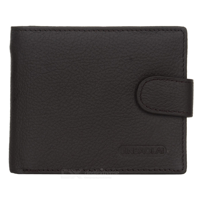 Mens Head Layer Cowhide Leather Folded Wallet w/ Coin Pocket - CoffeeWallets and Purses<br>Form ColorCoffeeQuantity1 DX.PCM.Model.AttributeModel.UnitShade Of ColorBrownMaterialHead layer cowhideGenderMenSuitable forAdultsOpeningOthers,Men wallet with coin pocketStyleFashionWallet Dimensions11.5x9.5x2.5cmOther FeaturesBi-fold for men; Wallet with coin pocket;<br>Money wallet / card wallet / money clip wallet.Packing List1 x Purse<br>