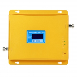 GSM-WCDMA-Phone-Signal-Amplifier-Booster-w-Dual-Frequency-Band-Gold