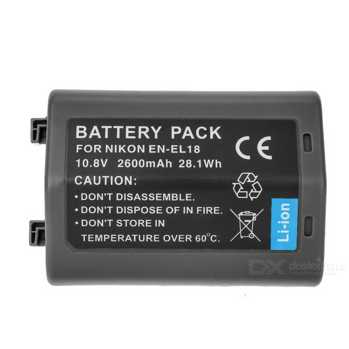 2400mAh EN-EL18 / EL18A Camera Battery for Nikon D4 D4X / MB-D12 Grip