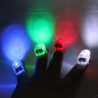 Colorful Flashing 4-Finger Light Toy Set - White + Red + Multicolor (3 x L736 / 2 Sets)