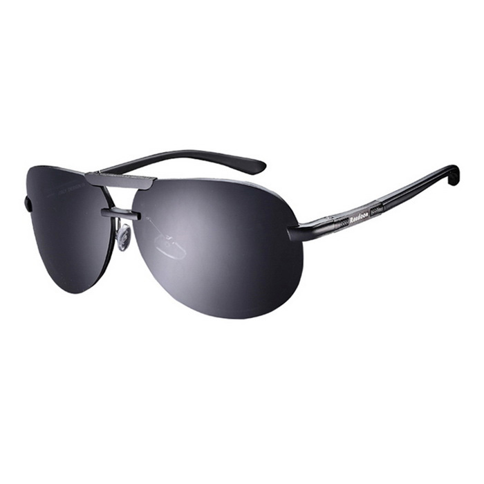 Buy Reedoon 2223 Polarized UV400 Resin Lens Sunglasses - Gray with Litecoins with Free Shipping on Gipsybee.com