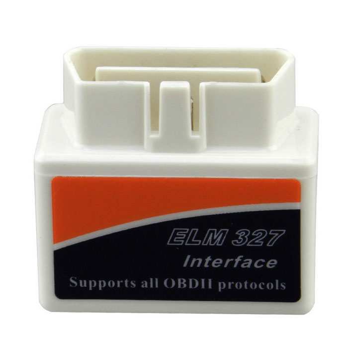 ELM327 Bluetooth V2.1 OBDII auto auto Scanner Interface Tool - White