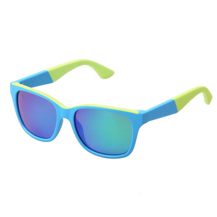 Buy Unisex UV400 Protection TR90 Frame Sunglasses - Blue with Litecoins with Free Shipping on Gipsybee.com