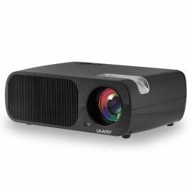 UHAPPY U20 HD Home Theater LED Projector w/ SD, HDMI, VGA - Black
