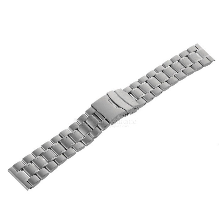 Stainless Steel Watchband w/o Attachments for APPLE WATCH 42mm- Silver