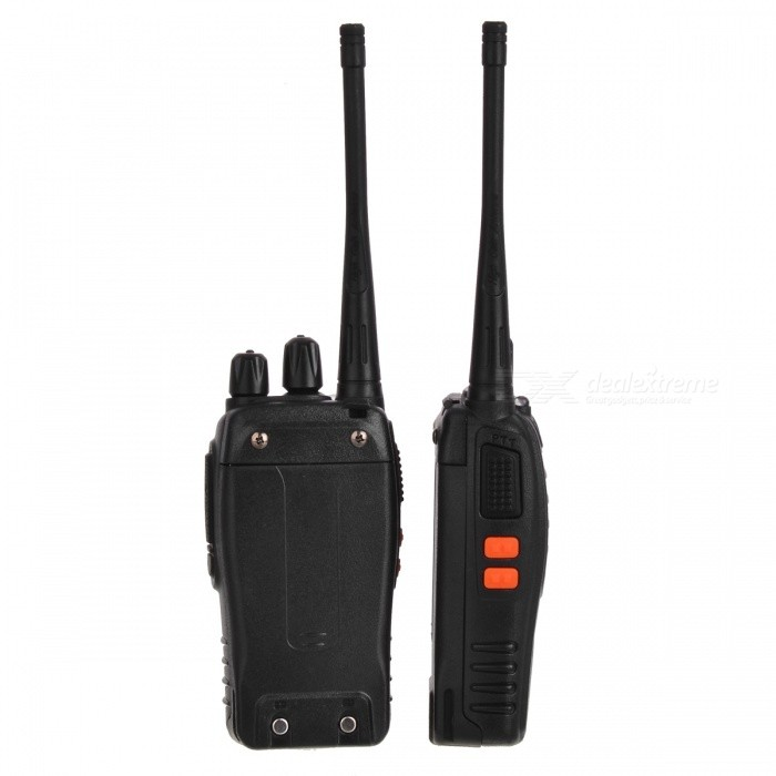 Buy BAOFENG BF-888S 16-CH 400~470MHz 5W Walkie Talkie Set (2PCS) with Litecoins with Free Shipping on Gipsybee.com