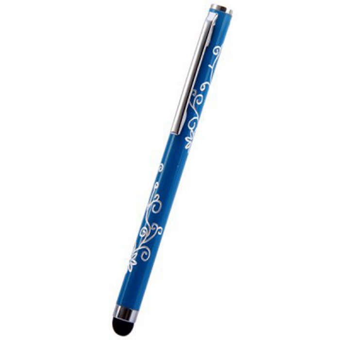 Kinston Embossing Style Aluminum Touch Screen Pen Stylus