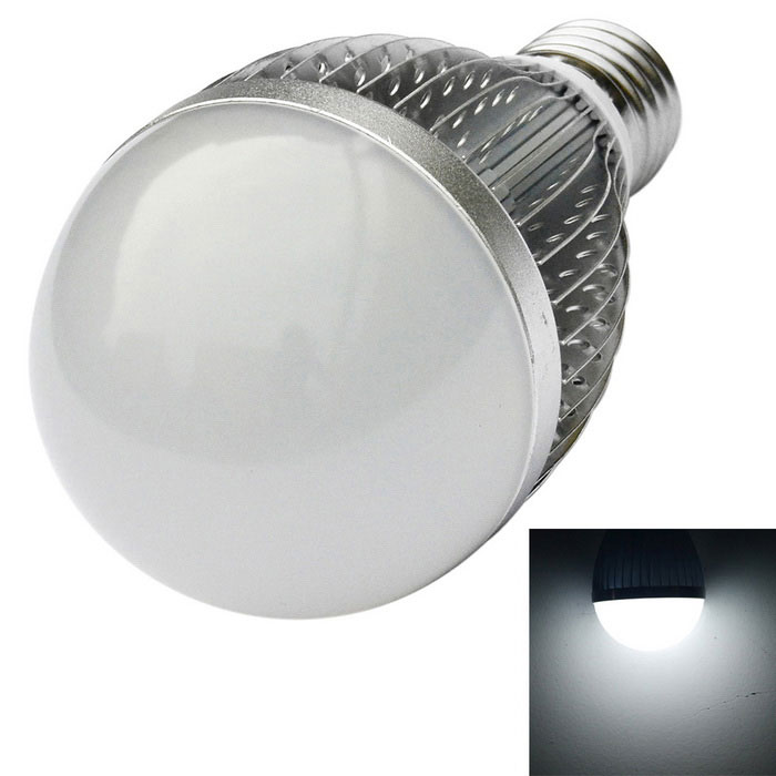 JIAWEN E27 12W LED Bulb Cold White Light 1080lm - Silver (AC 110~240V)E27<br>Form  ColorSilverColor BINCold WhiteMaterialAluminum alloyQuantity1 DX.PCM.Model.AttributeModel.UnitPower12WRated VoltageOthers,AC 110~240 DX.PCM.Model.AttributeModel.UnitConnector TypeE27Emitter TypeLEDTotal Emitters12Theoretical Lumens960~1080 DX.PCM.Model.AttributeModel.UnitActual Lumens960~1080 DX.PCM.Model.AttributeModel.UnitColor Temperature12000K,Others,6000~6500KDimmableNoBeam Angle180 DX.PCM.Model.AttributeModel.UnitPacking List1 x LED light<br>